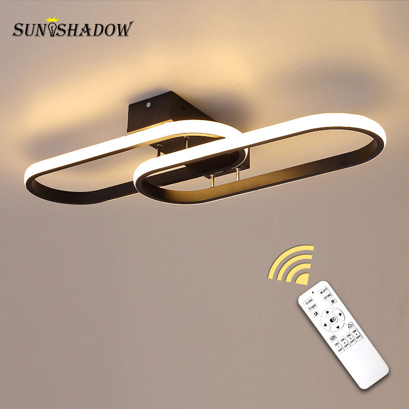 Led Chandelier Remote control Modern Led Ceiling Chandelier Lighting for Living orom Bedroom Kitchen Dining room Light fixtures