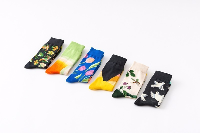 Socks Sports Men Women Tulip,Fresh Spring Season Flora Sock for Male Party Gifts