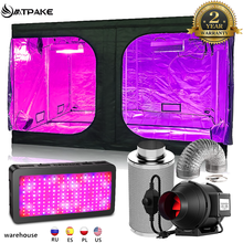 MTPAKE Growbox Grow Tent Full Kit Grow Light Lamps Set 4/5/6/8 Inch Centrifugal Fans
