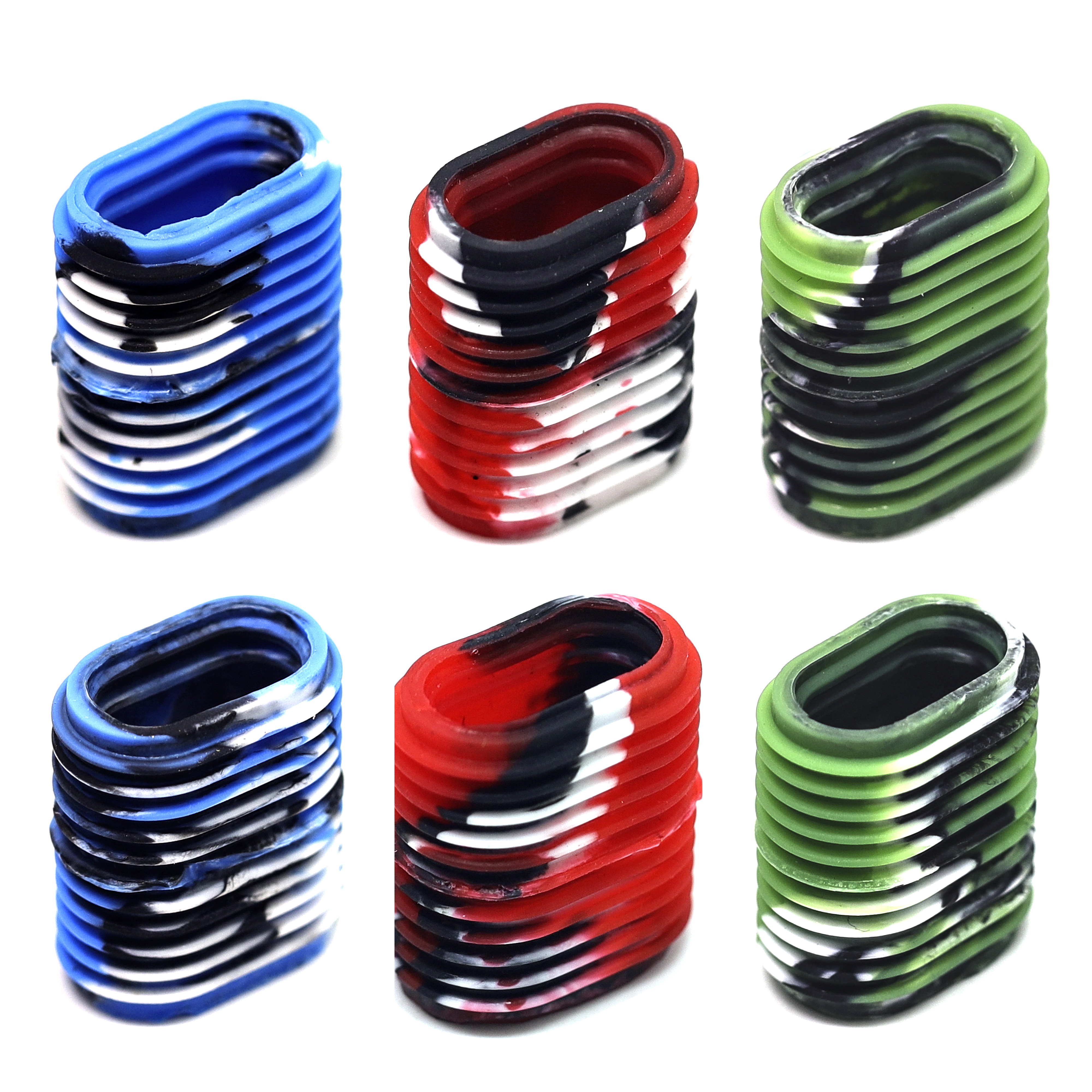 SAMSFX Cover-Knobs Reel-Grip FISHING Optional of 6PCS Ergonomic Non-Slip Multicolor title=