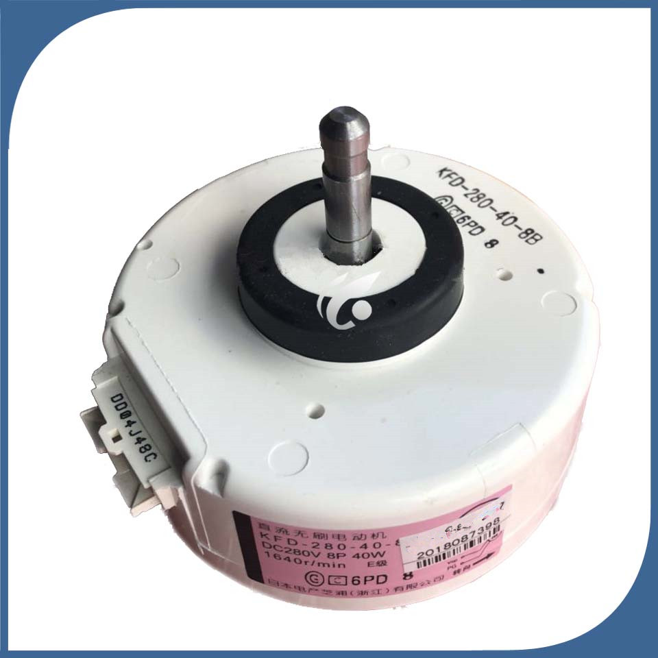 1pcs Daikin KFD-280-66-8A DC 280V 8P 66W air conditioner motor