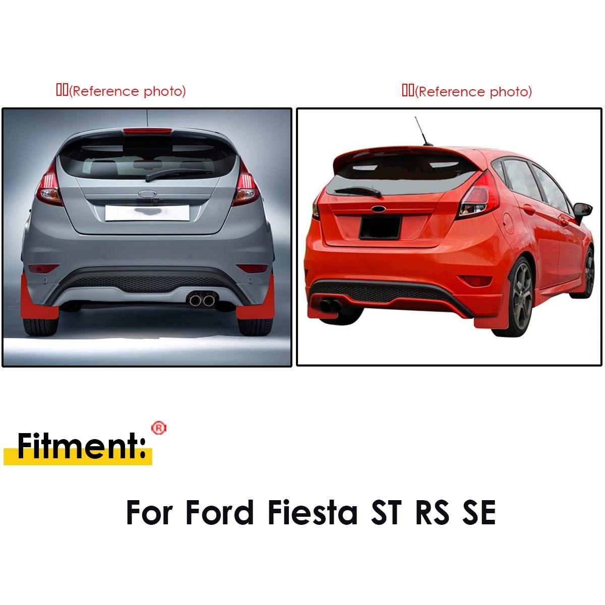 Ford fiesta ST180 pintado Cubierta del motor