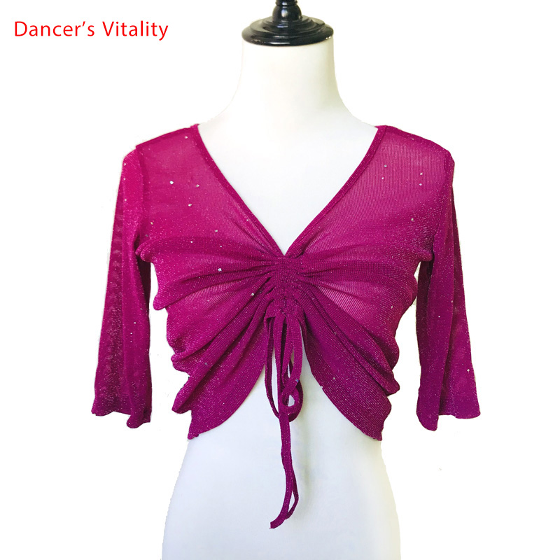 Belly Dance Tops New Sexy Oriental Dance Dance Clothes Summer Practice Clothes Beginners Dance Clothing