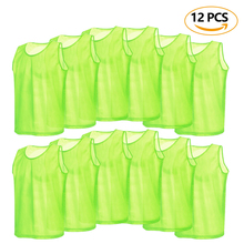 Football-Jerseys Sports-Vest Soccer-Pinnies Team Breathable Training-Bibs Scrimmage Practice