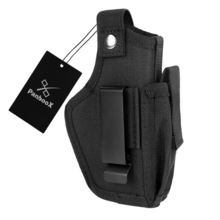 Pistol Holsters Gun-Pouch Nylon Tactical Clip-On IWB OWB Waist-Belt Ambidextrous Panboox