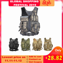 Outlife Tactical Vest Hunting-Plate-Carrier Assault-Shooting Military Holster Paintball
