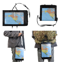 Case Pouch Tactical Map-Bag-Cover Pack Passport-Holder Folding-Storage Hunting Hiking