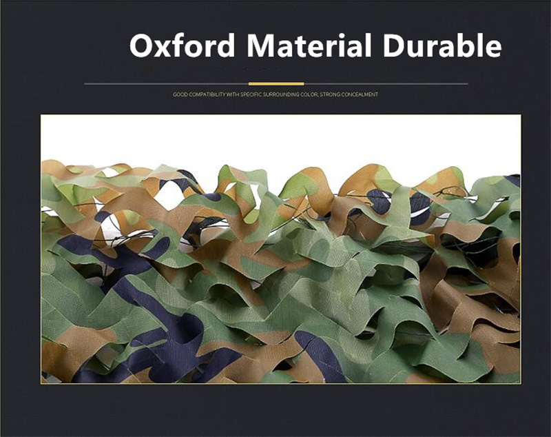 Customized Military Camouflage Net Outdoor Camo Woodland Army Camo Netting Hunting Shooting Fishing Shelter Hide Netting (42)