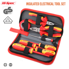 Screwdriver-Set Hand-Tool-Set Hi-Spec-Insulated-Pliers Electrician Vde 1000v S2 Approved