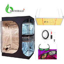 Inline-Fan Tent Grow-Light Complete Hydroponics Indoor Mylar Reflective Full-Kit FILTER