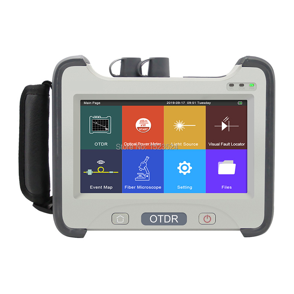 2020 Brand New 1490nm 1625nm 1650nm with Multiple Wavelength Fiber Optic OTDR Reflectometer With VFL OPM OLS Event Map