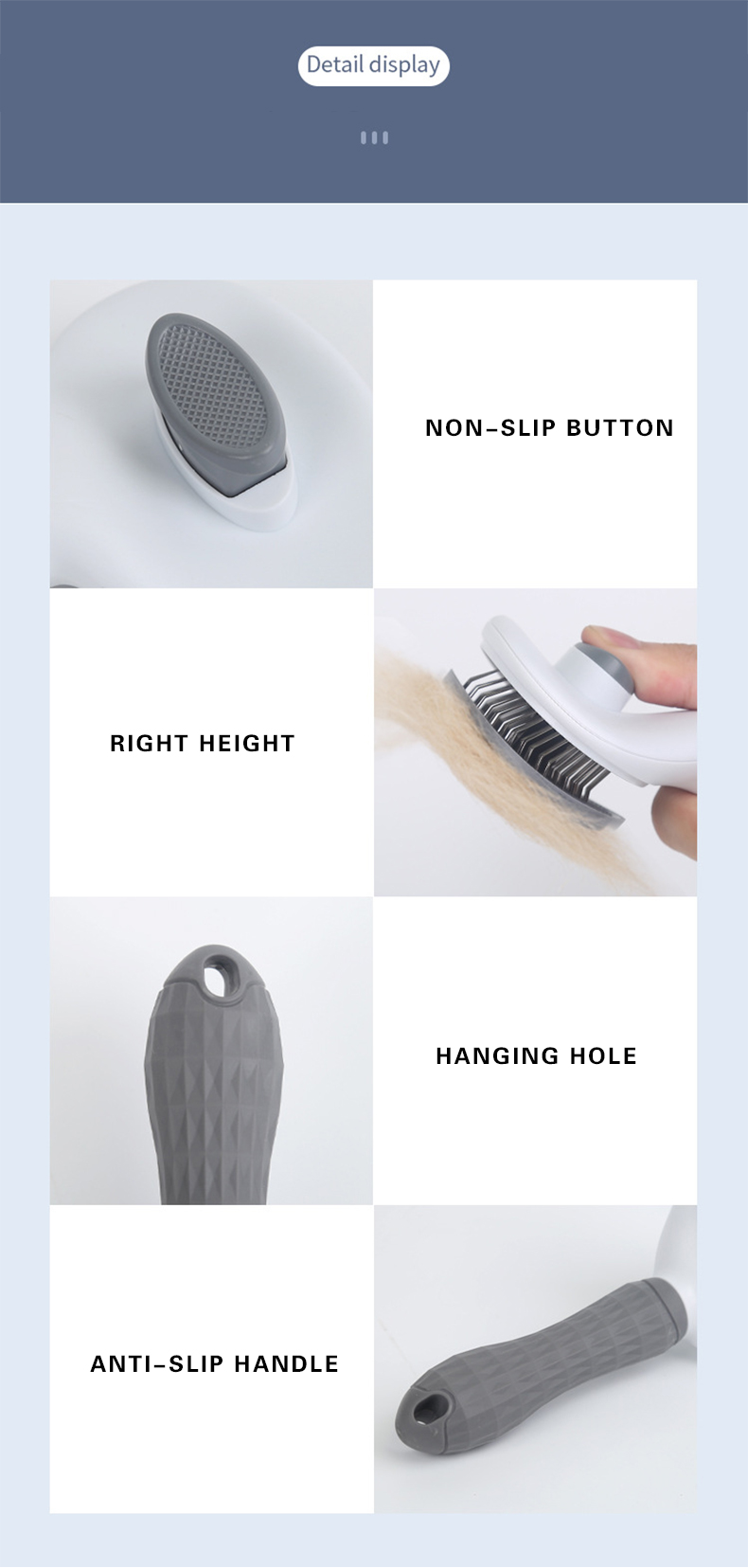 Hair Removal Non-slip Brush Image
