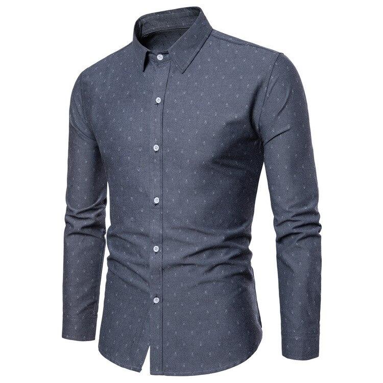 Men/'s Casual Shirt Slim Fit Men/'s Casual Button Down Shirt Long Sleeve Formal Dress Shirts Men Male Clothing Shirt Men