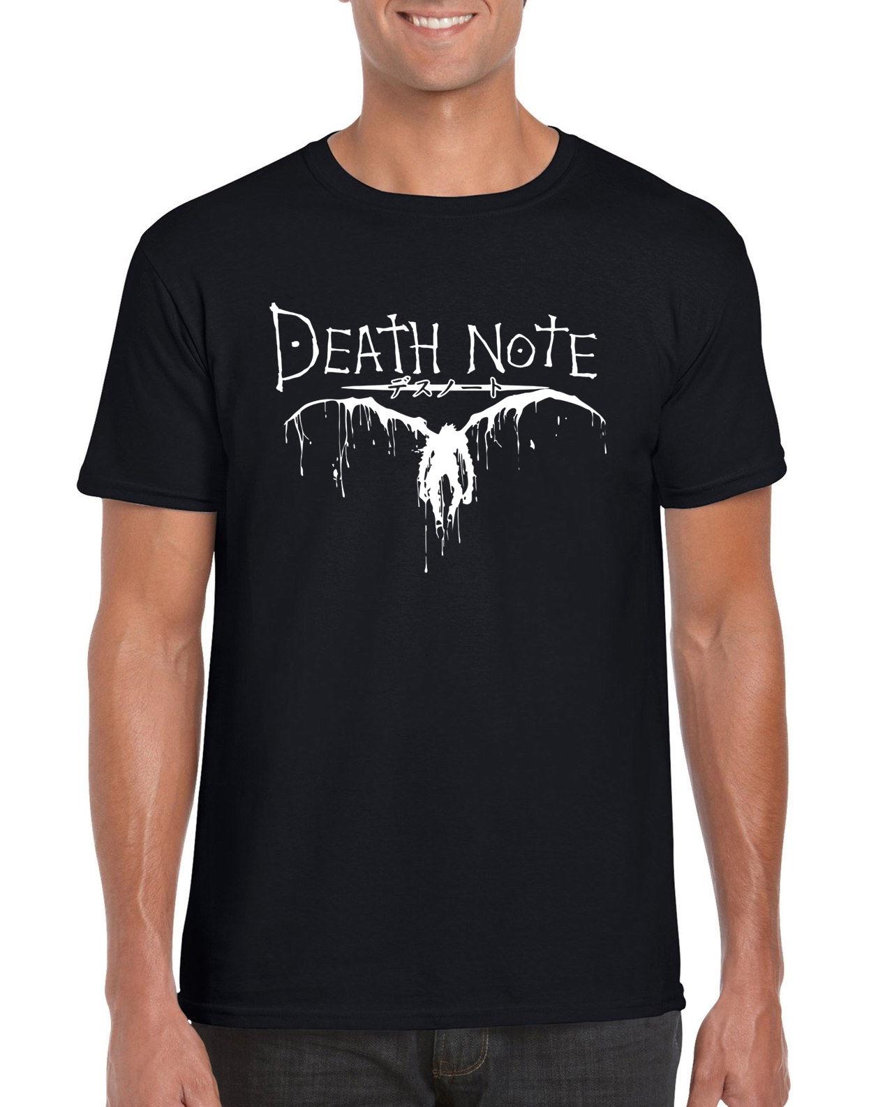 Death Note Light Anime Men Women Unisex T Shirt T-shirt Vest Baseball Hoodie 374