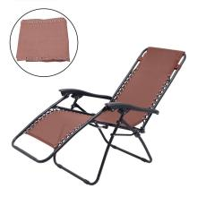 Raised-Bed Lounger Garden Chair Cushion Fabric Cloth for Beach Recliner Replacement Durable