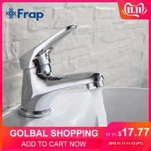 FRAP Basin Faucet Sink Vessel Water-Tap-Mixer Bathroom Chrome-Finish Brass Elegant F1013