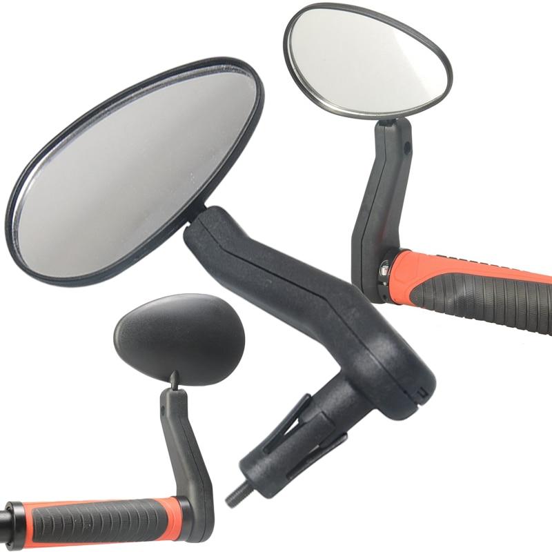 1 pair Universal Mini Rotaty Rearview Handlebar Glass Mirror For Bike Bicycle