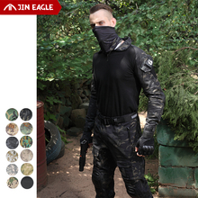 Tactical Frog Pants Suits Cargo-Shirts Combat Sniper Airsoft Shootinghunting Outdoor