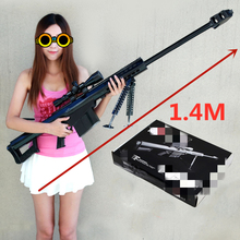 Gun-Toys Paper-Model Weapons Cosplay-Kits Sniper Rifle 3D Kid M82A1 1:1-Scale Adults'-Gun