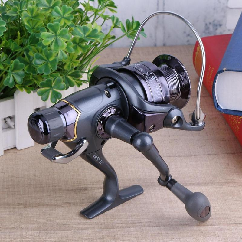 Fishing-Reel Metal Spool Fish-Tackle-Pesca Carbon Carp Double-Knobs And Rear Front Spinning title=