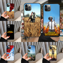Game PUBG Phone Case cover For iphone 5 5S 6 6S PLUS 7 8 11 12 mini X XR XS PRO SE SE