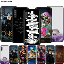 Webbedepp Once Upon A Time OUAT чехол для samsung Galaxy S7 S8 S9 S10 Edge Plus Note 10 8 9 A10 A20 A30 A40 A50 A60 A70(China)