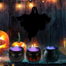 Fogger Fog-Machine Water-Fountain Mist-Maker Led-Light Party-Decoration Pot Cocina Color-Changing
