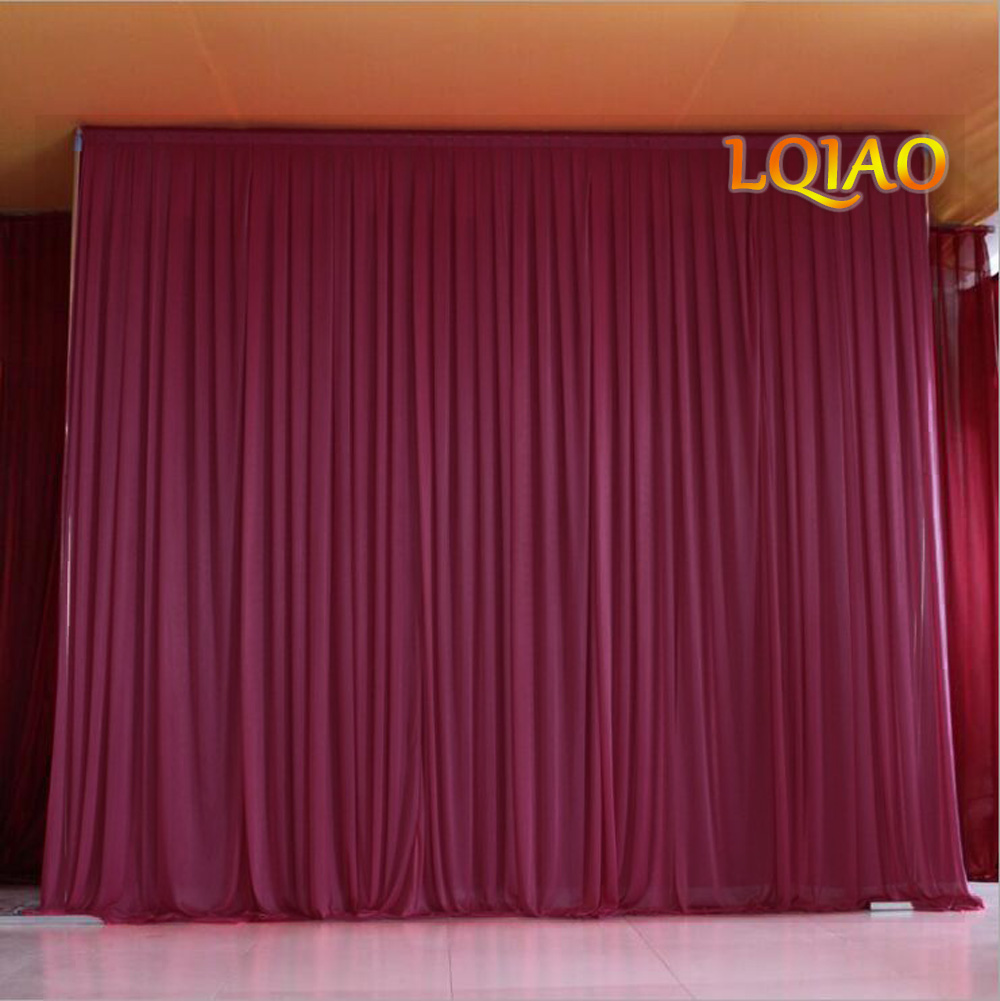 Black Photo Backdrop Photography for Stage Curtain Drape Muslin Cotton 3m x2.6m