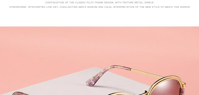 Sunglasses Women Vintage Round Sun Glasses Polarized Lens UV400 Anti Reflective Summer Polarized Women Snnglasses (8)