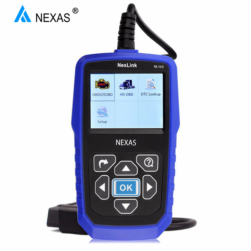 NEXAS Truck Scanner Transmission-Diagnostic-Tool NL102 Heavy-Duty for And Car-Engine-Brake title=