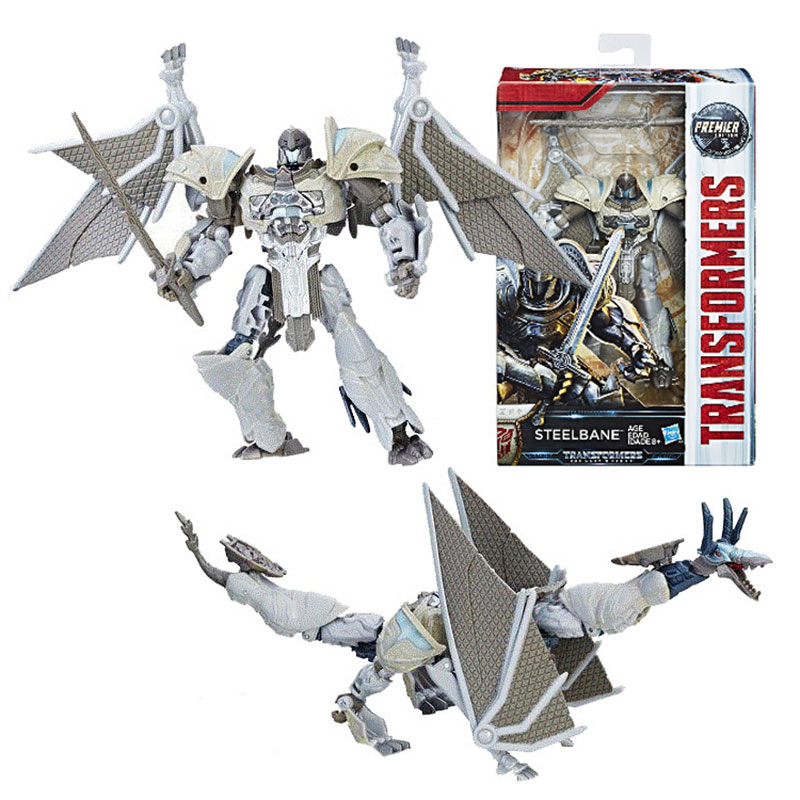 The Last Knight Steelbane Collectible Movie Figure Kids Toy Robot Transformers