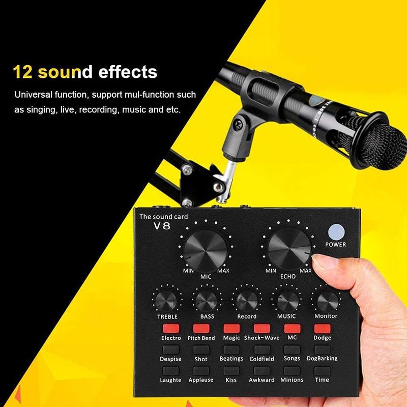 V8 Sound Card 3