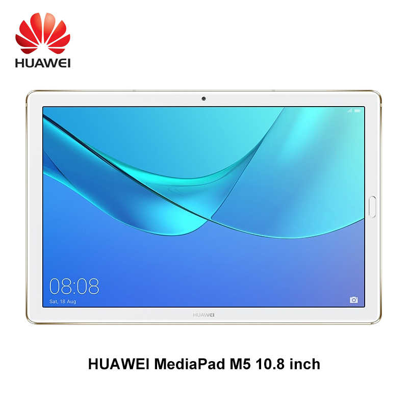 Huawei MediaPad M5 10,8 дюймов Восьмиядерный 4G Ram 32G/64G/128G Rom Wifi/LTE Android 8,0 2K IPS 2560x1600 отпечаток пальца Android 8,0