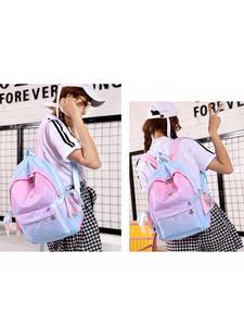 Backpacks School Book-Bag Abdb-Orthopedic Girls Children for Primary Printing