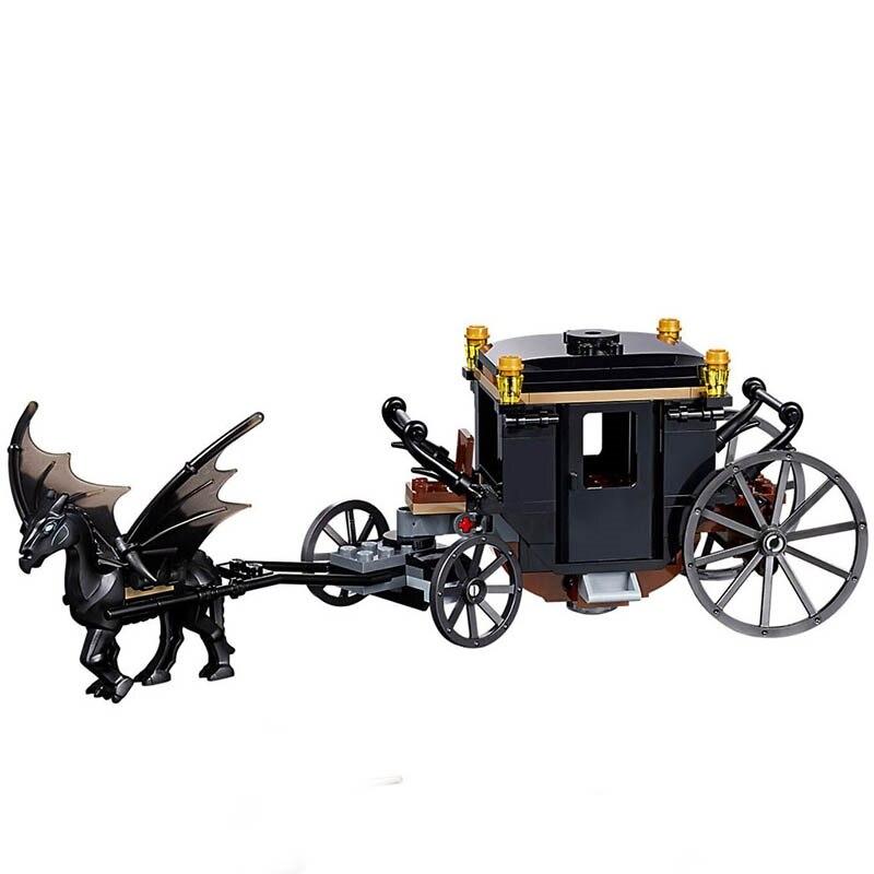 New-Movie-Harri-Castle-Hall-Hogwartse-Express-Potters-Legoings-75951-75953-75954-75955-75956-Model-Building