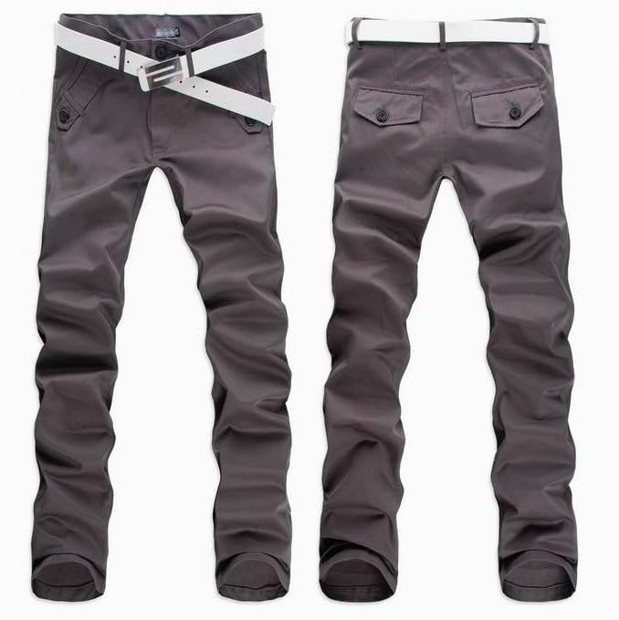 Men Versatile Casual Pants Business Long Pants Men \ \/'s Chinos Trousers