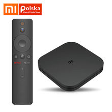 Глобальная версия Xiaomi Mi tv Box S Android tv Box 8,1 4K HDR четырехъядерный 2 ГБ DDR3 Smart control Bluetooth 4,2 Smart tv Box(Китай)