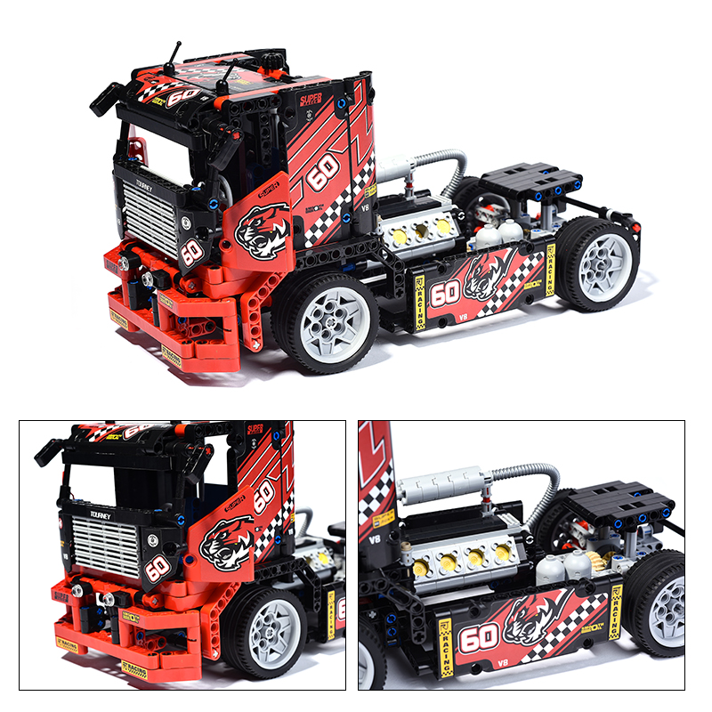 Decool-technic-1-2-Model-3360-608pcs-Race-Truck-Car-Transformable-Building-Blocks-Bricks-Gifts-Toys