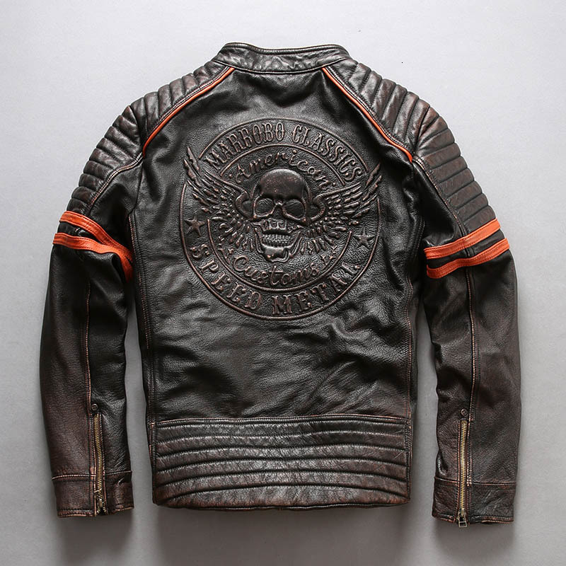 Factory--New-Men-3D-Skull-Motorcycle-Genuine-Leather-Jacket-100-Real-Soft-Cowhide-Slim-fit (6)