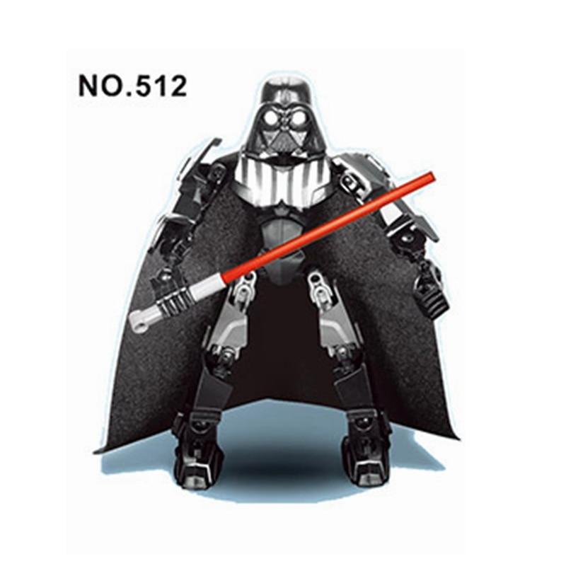 Legoing Star Wars Star PlanS Death Vader Droid Warrior Classic Big Blocks Figures Toys RobotS Figurine Halloween Christmas Gifts