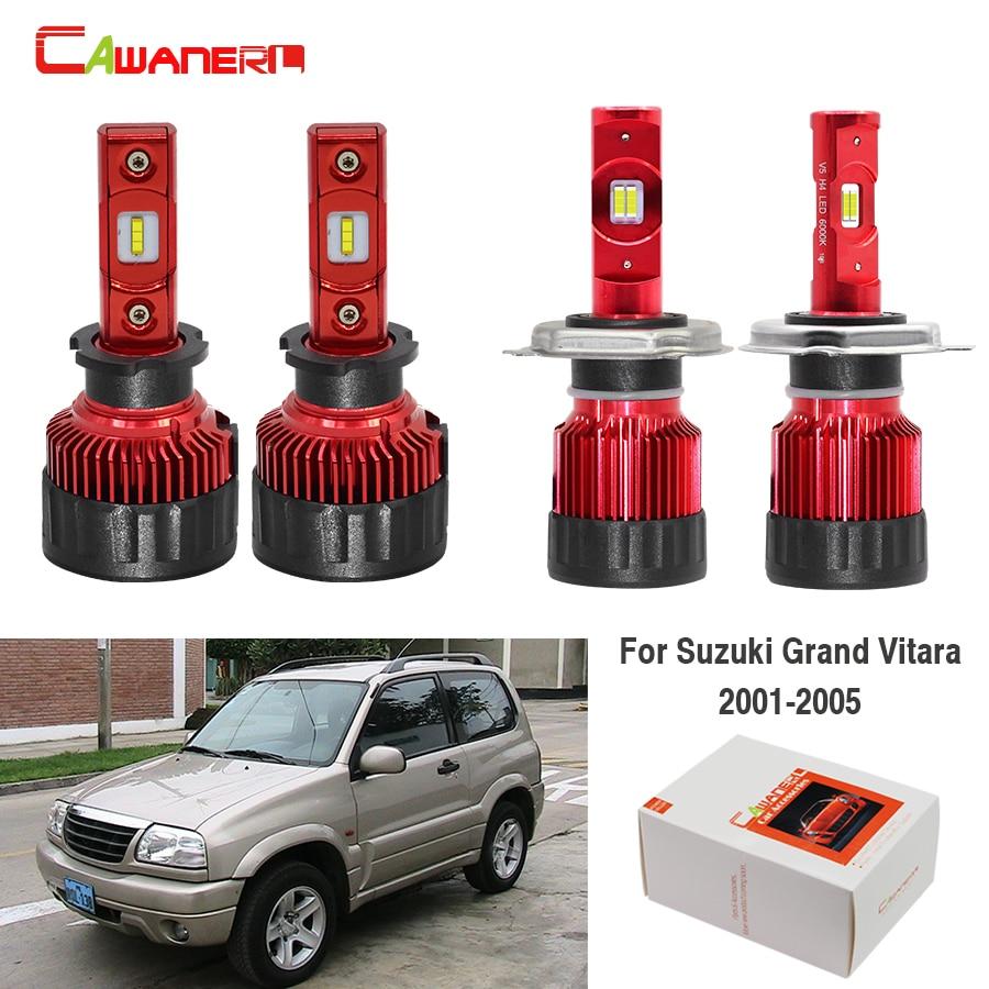 Suzuki Grand Vitara MK2 100w Super White Xenon HID High Beam Headlight Bulbs