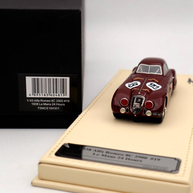 1//43 TSM MODEL Alfa Romeo 8C 2900 #19 Le Mans 24 Hours Car Model Collection