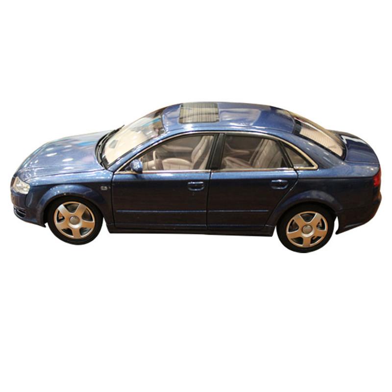 2019 Audi A4 1:32 Escala Modelo De Carro De Metal Fundido Branco Preto Luz E Som Brinquedo Criança