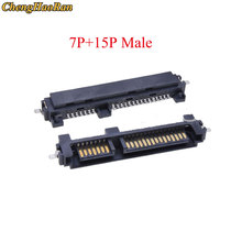 Sata-Interface-Socket Connector-Seat Patch-Type State-Drive Male Chenghaoran Seat-7 Sinking-Plate