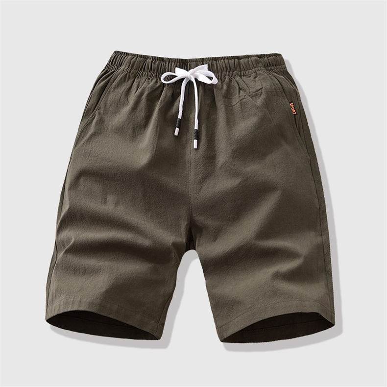 7Colors Summer Shorts Men Casual Running Shorts High Quality Brand Cotton Male Short Pants Plus Size 4XL 5XL 2019 Drop Shipping 11