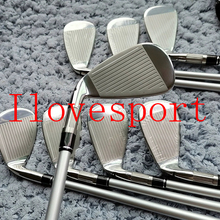 Golf-Clubs-Irons M6 Headcovers Shafts 8PCS 4-9PS DHL Graphite/steel R/S Including