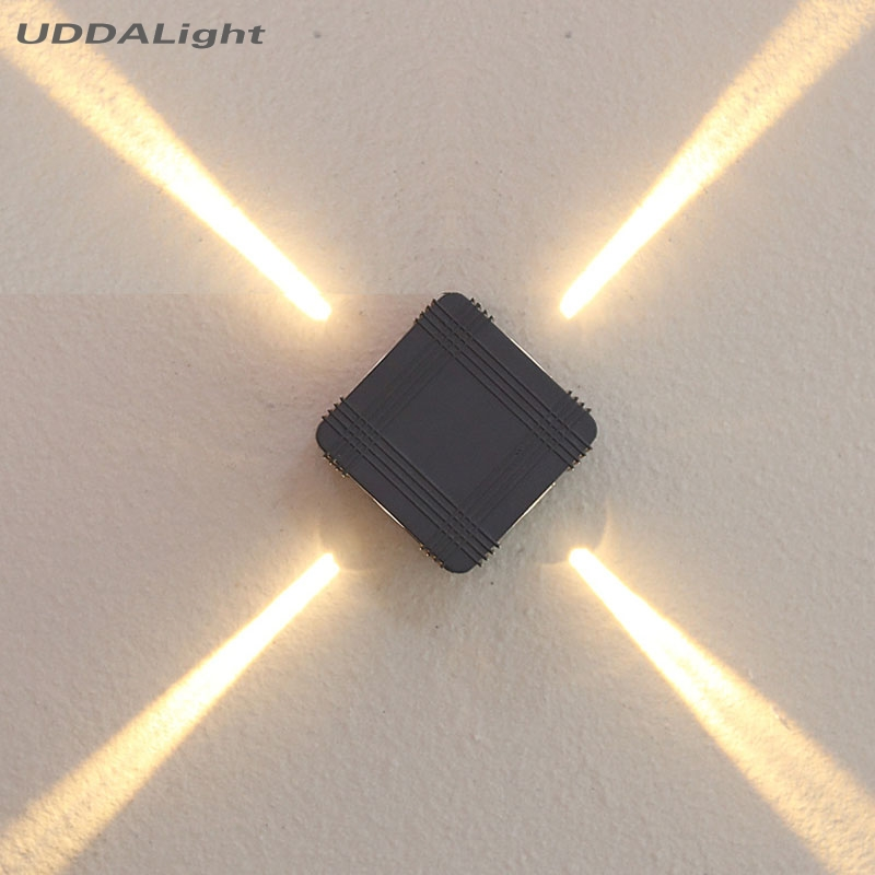 CREE led 3W Home garden Cross wall lamps outdoor Decoration