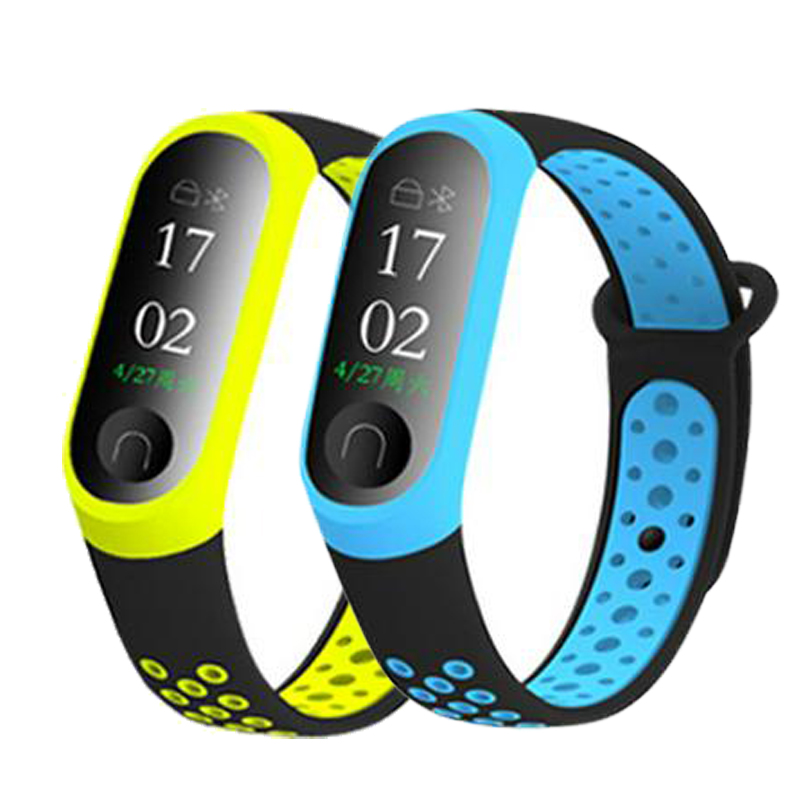 Replacement-Silicone-Wrist-Strap-Watch-Band-For-Xiaomi-MI-Band-4-3-Smart-Bracelet-New-Watch