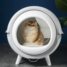 Cat-Litter-Box Self-Cleaning Automatic Deodorant Cat Toilet Closed Anti-Splash