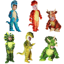 Triceratops Costume Jumpsuit Cosplay Dinosaur Little-T-Rex Boys Kids for New
